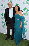 """Ed O'Neill and wife Catherine Rusoff at the """"Global Green USA's Annual Millennium Awards"""" held at Fairmont Miramar Hotel in Los Angeles, Ca. on June 8, 2013."""