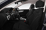Front seat view of 2017 Audi A4 Sport 4 Door Sedan Front Seat  car photos