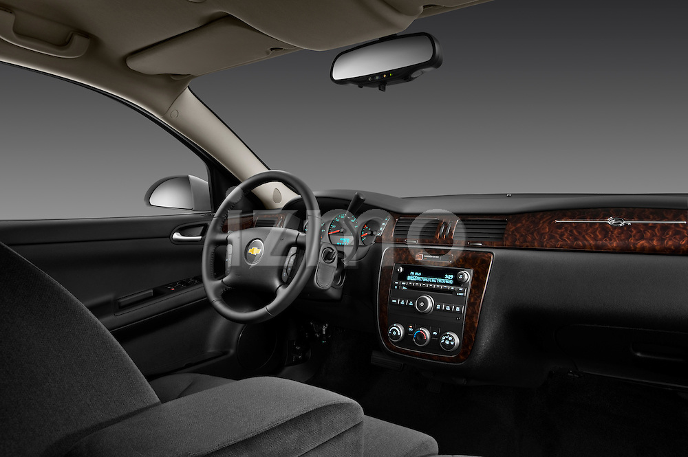 Passenger side dashboard view of a 2012 Chevrolet Impala LS