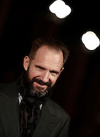 British actor Ralph Fiennes poses on the red carpet as he arrives for a special screening of the movie &quot;The English Patient&quot; during the international Rome Film Festival at Rome's Auditorium, 22 October 2016. The Film Festival celebrates one of the most beloved of Cinema History 'The English Patient' by Anthony Minghella, released twenty years ago (in 1996). <br /> UPDATE IMAGES PRESS/Isabella Bonotto