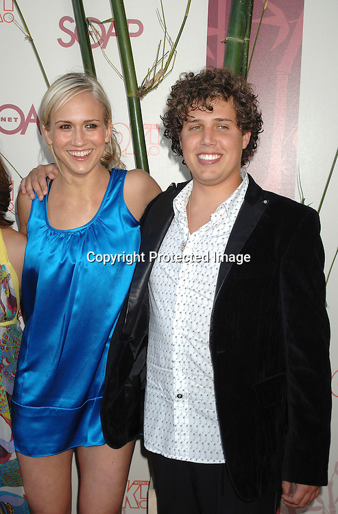 "Jennifer and Sean Landon..arriving at The SOAPnet's ""Night Before Party"" for the ..nominees of the 2007 Daytime Emmy Awards on            June 14, 2007 at Boulevard3 in Hollywood, California...Robin Platzer, Twin Images........212-935-0770"