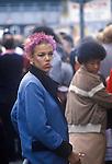 King Road Chelsea London Uk Street fashion 1983