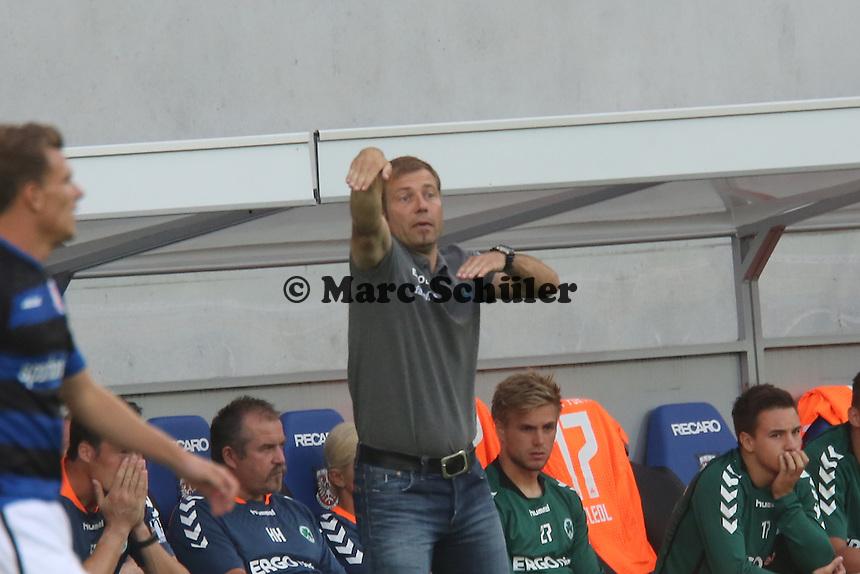 Trainer Frank Kramer (Fürth) - FSV Frankfurt vs. SpVgg Greuther Fürth, Frankfurter Volksbank Stadion