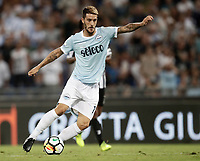 Calcio, Football - Juventus vs Lazio Italian Super Cup Final  <br /> Lazio's Luis Alberto Romero Alconchel in action during the Italian Super Cup Final football match between Juventus and Lazio at Rome's Olympic stadium, on August 13, 2017.<br /> UPDATE IMAGES PRESS/Isabella Bonotto