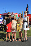 Susan Hand, Andrea Hermes, Coleen Hartford and Leah Cooney from the Motivation Clinic on Fair Street at the Bellewstown Races 2011...(Photo credit should read Jenny Matthews www.newsfile.ie)....This Picture has been sent you under the conditions enclosed by:.Newsfile Ltd..The Studio,.Millmount Abbey,.Drogheda,.Co Meath..Ireland..Tel: +353(0)41-9871240.Fax: +353(0)41-9871260.GSM: +353(0)86-2500958.email: pictures@newsfile.ie.www.newsfile.ie.