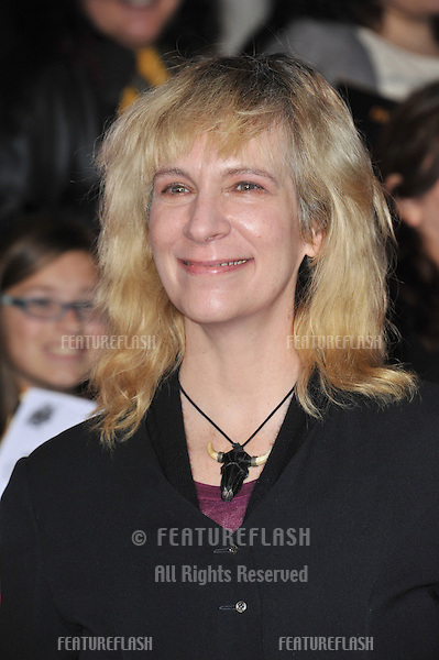 Amanda Plummer at the US premiere of her movie &quot;The Hunger Games: Catching Fire&quot; at the Nokia Theatre LA Live.<br /> November 18, 2013  Los Angeles, CA<br /> Picture: Paul Smith / Featureflash