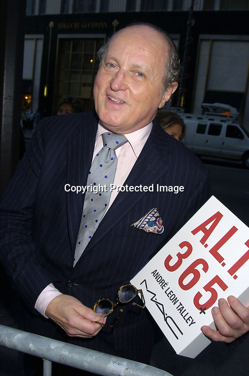 "Mario Buatta ..at a Book party for Madonna's new book ""Lotsa De Casha"" ..on June 7, 2005 at Bergdorf Goodman. ..Photo by Robin Platzer, Twin Images"