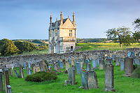 Jacobean house, a Grade II ancient monument called East Banqueting House at Chipping Campden in the Cotswolds, UK