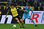 i01.12.2018, Signal Iduna Park, Dortmund, GER, DFL, BL, Borussia Dortmund vs SC Freiburg, DFL regulations prohibit any use of photographs as image sequences and/or quasi-video<br /> <br /> im Bild v. li. im Zweikampf Axel Witsel (#28, Borussia Dortmund) Janik Haberer (#19, SC Freiburg) <br /> <br /> Foto © nordphoto/Mauelshagen