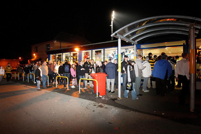 Photo: Richard Lane/Richard Lane Photography..London Wasps v Gloucester Rugby. EDF Energy Cup. 04/11/2007. .Wasps shop.