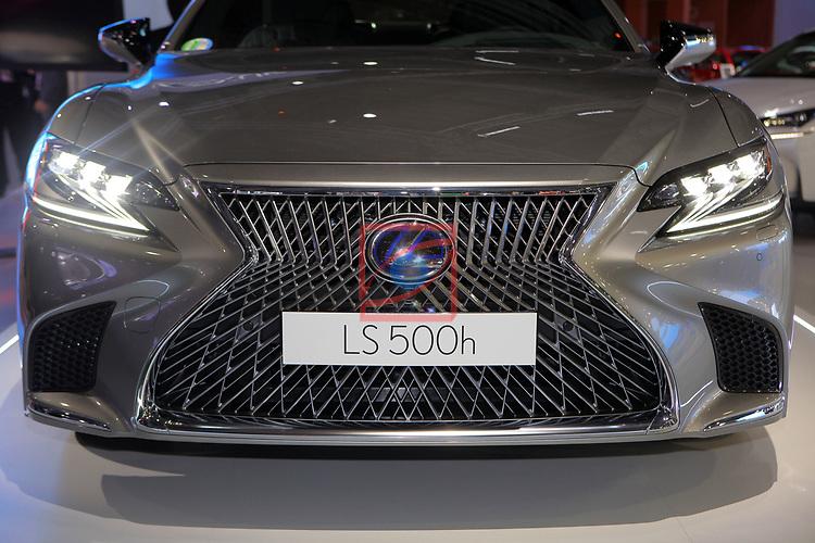Automobile Barcelona 2017.<br /> Stand Lexus.