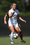 04 September 2016: Duke's Ashton Miller. The Duke University Blue Devils hosted the University of Minnesota Golden Gophers at Koskinen Stadium in Durham, North Carolina in a 2016 NCAA Division I Women's Soccer match. Duke won the game 1-0.