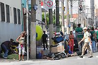 SAO PAULO, SP, 13 Janeiro 2012.Operacao na rua Helvetia na Cracolandia  .  (FOTO: ADRIANO LIMA - NEWS FREE)
