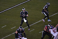 quarterback Carson Wentz (11) of the Philadelphia Eagles - 09.12.2019: Philadelphia Eagles vs. New York Giants, Monday Night Football, Lincoln Financial Field