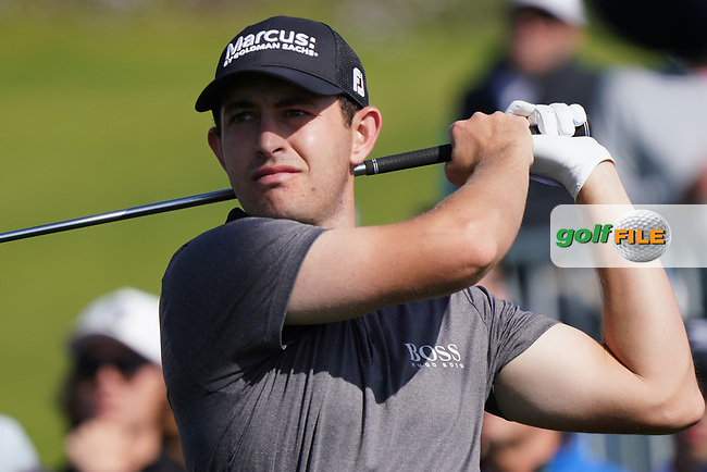Patrick Cantlay (USA) In action during the 1st round of The Genesis Invitational, Riviera Country Club, Pacific Palisades, Los Angeles, USA. 12/02/2020<br /> Picture: Golffile | Phil Inglis<br /> <br /> <br /> All photo usage must carry mandatory copyright credit (© Golffile | Phil Inglis)