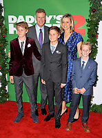 Will Ferrell, Viveca Paulin &amp; Family at the premiere for &quot;Daddy's Home 2&quot; at the Regency Village Theatre, Westwood. Los Angeles, USA 05 November  2017<br /> Picture: Paul Smith/Featureflash/SilverHub 0208 004 5359 sales@silverhubmedia.com