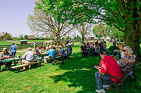 GEORGETOWN, KENTUCKY, MAY 06:  14th Annual Fundraiser at Old Friends Farm on May 6, 2018 in Georetown, Kentucky. ( Photo by Sue Kawczynski/Eclipse Sportswire/Getty Images)