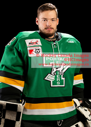 Brooks, AB - May 10 2019 - Portage Terriers during the 2019 National Junior A Championship at the Centennial Regional Arena in Brooks, Alberta, Canada (Photo: Matthew Murnaghan/Hockey Canada)