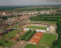 1993. Deurne. Bosuil voetbalstadion van Royal Antwerp Football Club.
