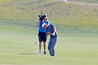 Brooks Koepka (USA) hits a shot out of the fairway on the 14th hole during the 118th U.S. Open Championship at Shinnecock Hills Golf Club in Southampton, NY, USA. 17th June 2018.<br /> Picture: Golffile | Brian Spurlock<br /> <br /> <br /> All photo usage must carry mandatory copyright credit (&copy; Golffile | Brian Spurlock)