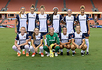 Houston, TX - Saturday July 15, 2017: Washington Spirit  Starting XI during a regular season National Women's Soccer League (NWSL) match between the Houston Dash and the Washington Spirit at BBVA Compass Stadium.