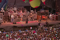 The Grateful Dead in Concert at Foxboro Stadium 2 July 1989. 25th Anniversary Tour.