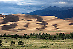 View of Great Sand Dunes National Park, Colorado, USA