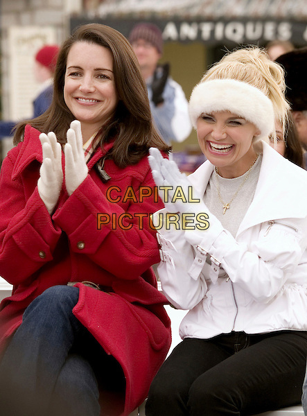 KRISTIN DAVIS & KRISTIN CHENOWETH.in Deck the Halls .*Editorial Use Only*.Ref: FB.www.capitalpictures.com.sales@capitalpictures.com.Supplied by Capital Pictures.