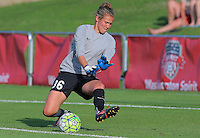 Boyds, MD - Saturday July 09, 2016: Didi Haracic prior to a regular season National Women's Soccer League (NWSL) match between the Washington Spirit and the Chicago Red Stars at Maureen Hendricks Field, Maryland SoccerPlex.