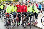 John Tobin, Roseari Clifford, Jack Clifford, Amanda Long, Eileen Ferguson and Ailish Tobin at the Stephenie O'Sullivan Memorial Cycle at Milton on Sunday.