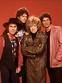 SLADE - L-R: Dave Hill, Jim Lea, Noddy Holder, Don Powell - 1991.  Photo credit: Ray Palmer Archive/IconicPix