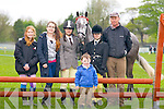 CLASS 58: Saidbh Norris in class 58 showjumping and cheering Saidbh on were, Heidi Crean, Kelly Donovan, Niamh Murphy, Fionn Lawlor, Tim Hurley and Saidbh Norris