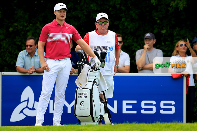 Oliver Fisher (ENG) during the third round of the Lyoness Open powered by Organic+ played at Diamond Country Club, Atzenbrugg, Austria. 8-11 June 2017.<br /> 10/06/2017.<br /> Picture: Golffile | Phil Inglis<br /> <br /> <br /> All photo usage must carry mandatory copyright credit (&copy; Golffile | Phil Inglis)