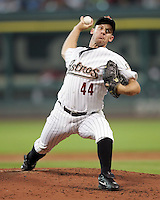 Houston Astros Pitcher Roy Oswalt on Thursday May 22nd at Minute Maid Park in Houston, Texas. Photo by Andrew Woolley / Baseball America..