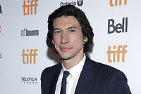 """TORONTO, ONTARIO - SEPTEMBER 08: Adam Driver attends """"The Report"""" premiere during the 2019 Toronto International Film Festival at Winter Garden Theatre on September 08, 2019 in Toronto, Canada. Photo: <br /> CAP/MPI/IS/PICJER<br /> ©PICJER/IS/MPI/Capital Pictures"""