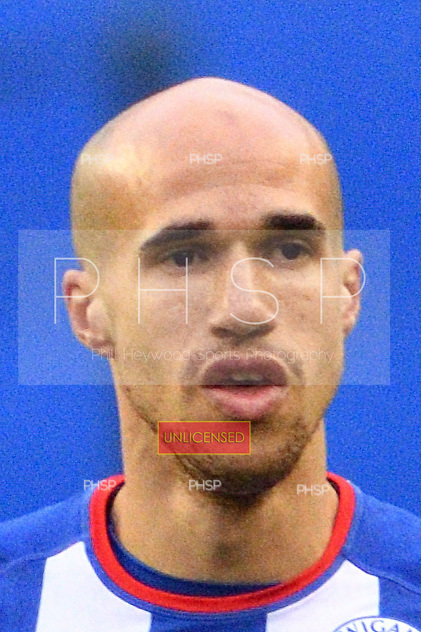 25/02/2017 Sky Bet Championship Wigan Athletic v Nottingham Forest<br /> <br /> Gabriel Obertan, Wigan Athletic FC