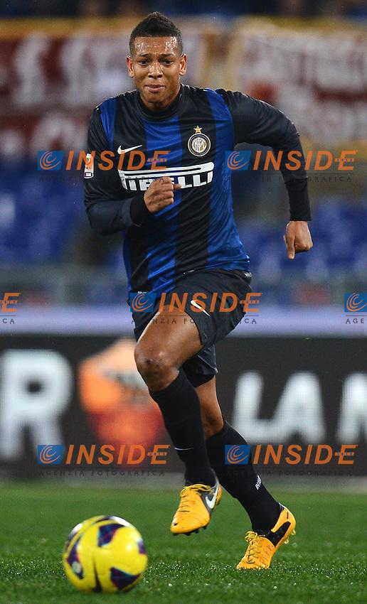Fredy Guarin Inter .Roma 20/01/2013 Stadio Olimpico.Football Calcio 2012/2013 Serie A.Roma Vs Inter 1-1.Foto Andrea Staccioli Insidefoto