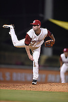 ***Temporary Unedited Reference File***Chattanooga Lookouts relief pitcher Jake Reed (44) during a game against the Montgomery Biscuits on May 2, 2016 at AT&T Field in Chattanooga, Tennessee.  Chattanooga defeated Montgomery 9-6.  (Mike Janes/Four Seam Images)