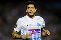 VIGO, SPAIN - APRIL 13 : Alejandro Pozuelo midfielder of KRC Genk pictured during the UEFA Europa League, Quarter-finals, 1st leg match between RC Celta de Vigo and KRC Genk at the Balaidos stadium on April 13, 2017 in Vigo, Spain, 13/04/2017<br /> Vigo 13-04-2016 <br /> Celta Vigo - Genk Europa League <br /> Foto Panoramic / Insidefoto <br /> ITALY ONLY