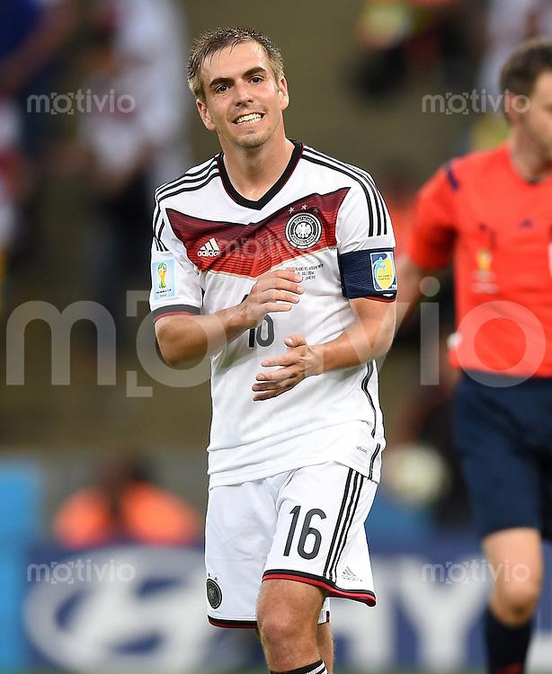 FUSSBALL WM 2014                FINALE Deutschland - Argentinien     13.07.2014 Philipp Lahm (Deutschland)