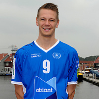 GRONINGEN - Volleybal, presentatie Abiant Lycurgus, seizoen 2017-2018, 27-09-2017, Lycurgus speler Stijn van Schie