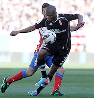 Granada's Yacine Brahimi during La Liga match.April 14,2013. (ALTERPHOTOS/Acero)