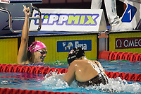 Yuliya Efimova of Russia won the Women's 200m Breaststroke competition at the FINA Champions Swim Series at the Danube Arena in Budapest, Hungary on May 11, 2019. ATTILA VOLGYI