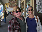 Dennis and Barbara Taylor from Carson City during the Taste of the Comstock in Virginia City on Saturday, June 10, 2017.