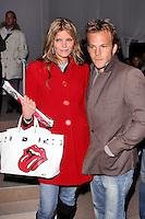 ©2004 ARIEL RAMEREZ / HUTCHINS PHOTO.FASHION WEEK .CUSTO BARCELONA FASHION SHOW.NEW YORK CITY, NEW YORK.FEBRUARY 2004..MAY ANDERSON.STEPHEN DORFF.