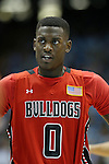 09 November 2012: Gardner-Webb's Donta Harper. The University of North Carolina Tar Heels played the Gardner-Webb University Runnin' Bulldogs at Dean E. Smith Center in Chapel Hill, North Carolina in an NCAA Division I Men's college basketball game. UNC won the game 76-59.