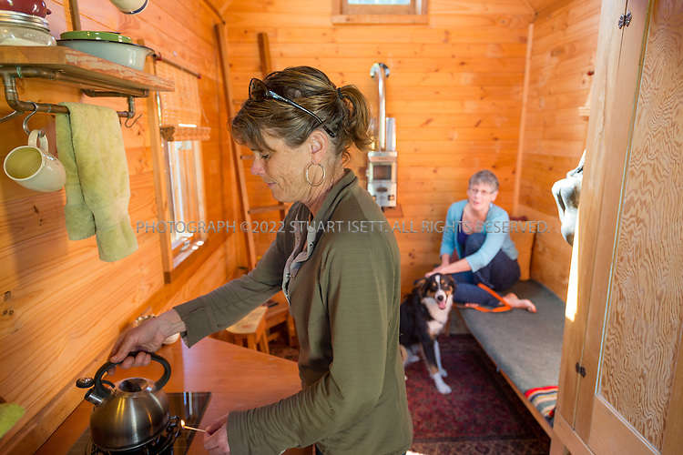 4/12/2014&mdash;Olympia, WA, USA<br /> <br /> Dee William's mini home in Olympia, WASH.<br /> <br /> <br /> Photograph by Stuart Isett<br /> &copy;2014 Stuart Isett. All rights reserved.