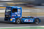 German driver Rene Reinert belonging German team Rene Reinert during the third race R3 of the XXX Spain GP Camion of the FIA European Truck Racing Championship 2016 in Madrid. October 02, 2016. (ALTERPHOTOS/Rodrigo Jimenez)