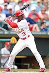 14 March 2007: St. Louis Cardinals outfielder Preston Wilson in the action against the Washington Nationals at Roger Dean Stadium in Jupiter, Florida...Mandatory Photo Credit: Ed Wolfstein Photo