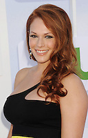 BEVERLY HILLS, CA - JULY 29: Amanda Righetti arrives at the CBS, Showtime and The CW 2012 TCA summer tour party at 9900 Wilshire Blvd on July 29, 2012 in Beverly Hills, California. /NortePhoto.com<br />